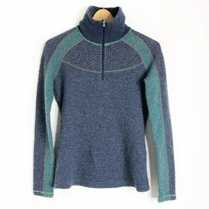 Prana | 1/4 Zip Wool Blend Corrine Sweater